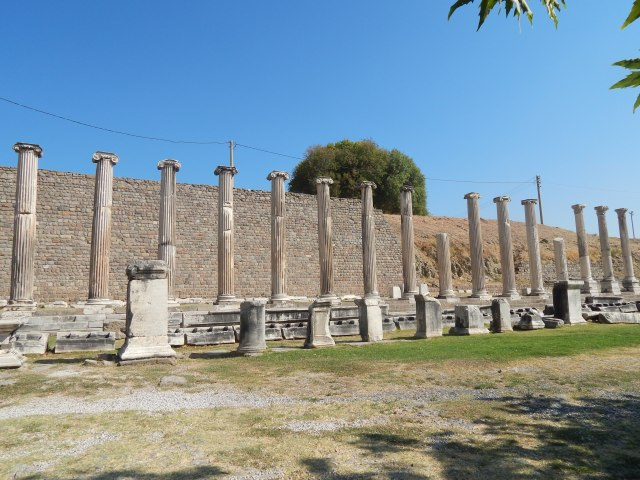 Ancient medical centre of Pergamon